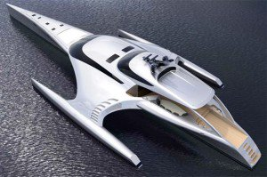 A couple in China have commissioned the Adastra Trimaran to be built.  I can't wait to see the real thing move.