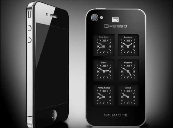 Gresso iPhone Time Machine