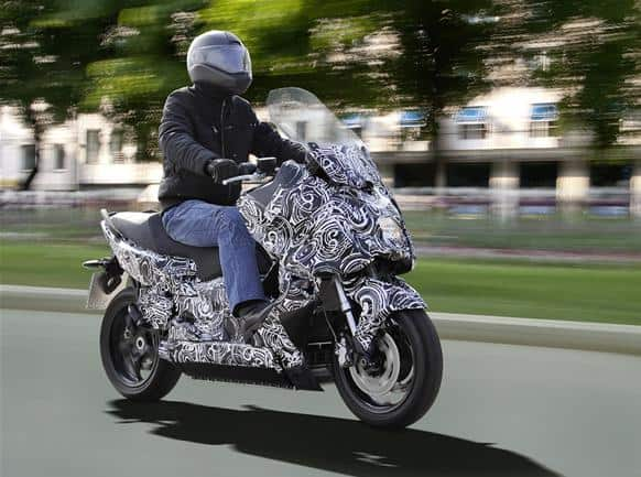 BMW e-scooter concept bike