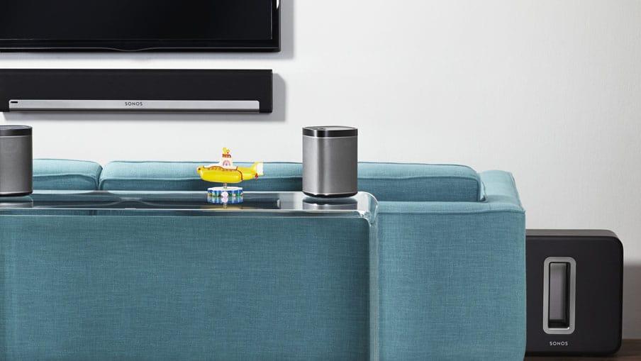 Sonos 5.1 home music system