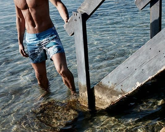 orelbar brown shorts you can swim in