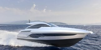 Targa 43 Open Yacht Debut at Cannes