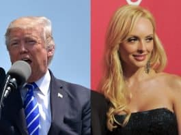 trump and playmate