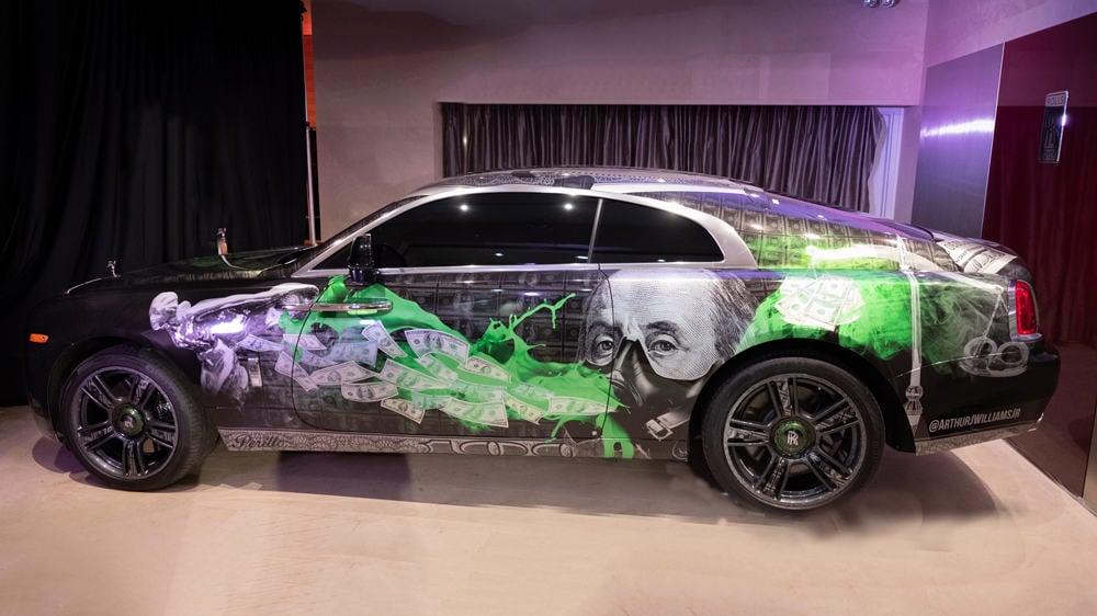Custom Paint Shops Near Me >> Rolls Royce Auctioned Wraith With Custom Paintjob For